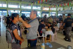 2018年タイ老眼鏡無料配布ボランティア活動