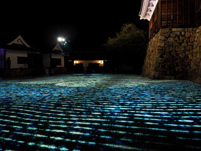 城 アップ 福知山 ライト